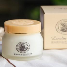 LAIKOU Krim Wajah Lanolin Cream Sheep Oil Anti Aging 90g - LKC011 - White - 2