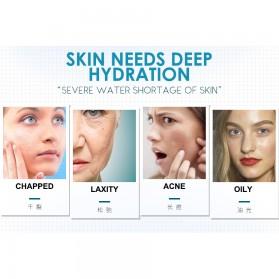 LAIKOU Krim Wajah Hydrating Hyaluronic Moisturizing Skin Care 55g - Blue - 4