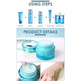 LAIKOU Krim Wajah Hydrating Hyaluronic Moisturizing Skin Care 55g - Blue - 8