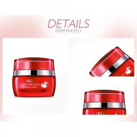 LAIKOU Krim Wajah Red Pomegranate Anti-Wrinkle Whitening Moisturizing 55g - Red - 5