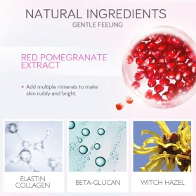 LAIKOU Sabun Cuci Red Pomegranate Facial Cleanser 100g - Red - 2