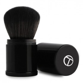 O.TWO.O Foundation Profesional Make Up Brush Retractable - Black