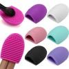 Aksesoris Makeup Lainnya - Brush Egg Pembersih Brush Makeup - Multi-Color