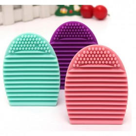Brush Egg Pembersih Brush Makeup - Multi-Color - 7