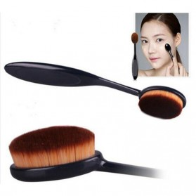 Oval Brush Foundation Make Up Tool - BB4 - Black