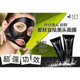 Health Care - Aivoye Masker Wajah Black Cream Acne Pulling Mask 60g - Black