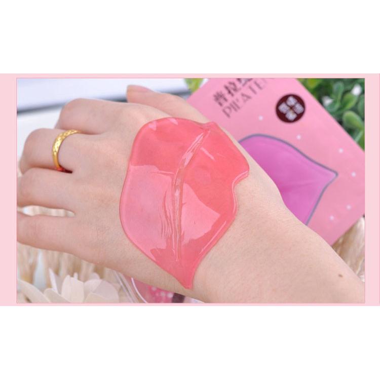 Pilaten Masker Bibir Moisturizing Collagen Lips Mask 1 PCS - 9 ...