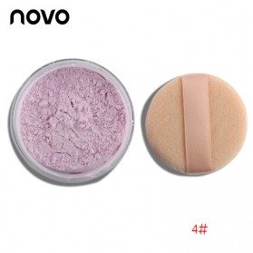 NOVO Foundation Loose Powder - No.4 Light Purple Color