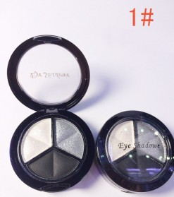 Charming Makeup Eye Shadow 3 Warna - No.1 - EY318