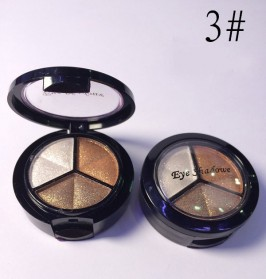 Charming Makeup Eye Shadow 3 Warna - No.3 - EY318