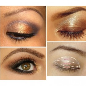 Charming Makeup Eye Shadow 3 Warna - No.5 - EY318 - 3