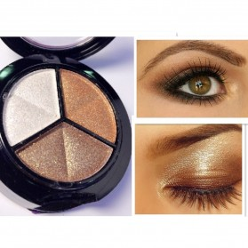 Charming Makeup Eye Shadow 3 Warna - No.5 - EY318 - 4