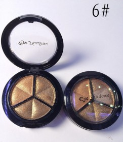 Charming Makeup Eye Shadow 3 Warna - No.6 - EY318