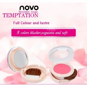 NOVO Temptation Beautiful Rogue Monochrome Blush On 8g - No.1 Cherry Pink - 6