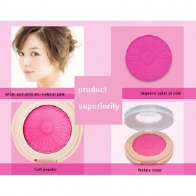 NOVO Monochrome Blush On 8g - No.4 Carmine - 5