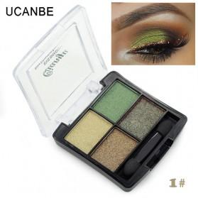 UCANBE Qianyu Eye Shadow 4 Warna - No.1 Pearl Color
