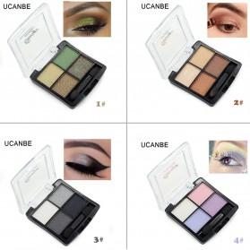 UCANBE Qianyu Eye Shadow 4 Warna - No.1 Pearl Color - 2