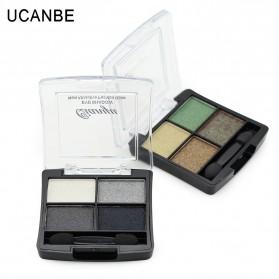 UCANBE Qianyu Eye Shadow 4 Warna - No.1 Pearl Color - 3
