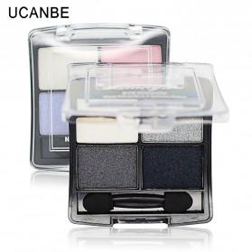 UCANBE Qianyu Eye Shadow 4 Warna - No.1 Pearl Color - 4
