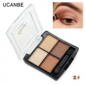 UCANBE Qianyu Eye Shadow 4 Warna - No.2 Pearl Color