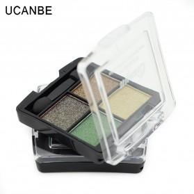 UCANBE Qianyu Eye Shadow 4 Warna - No.2 Pearl Color - 5