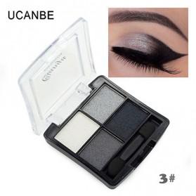 UCANBE Qianyu Eye Shadow 4 Warna - No.3 Pearl Color