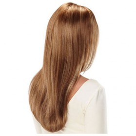 Wig Rambut Palsu Model Long Straight - Linseed Yellow 014 - Yellow