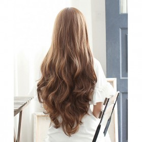 FYNHA Wig Rambut Palsu Model Wavy 65 cm - 131 - Brown
