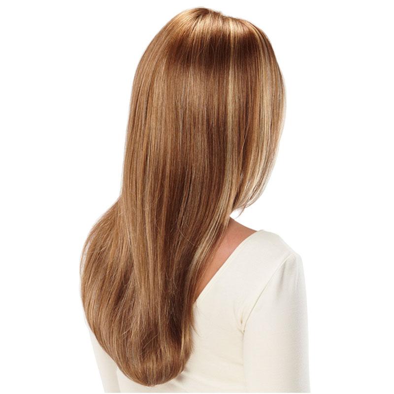 Wig Rambut Palsu Model Long Straight  Brown/Gold  JakartaNotebook