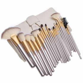 Kuas Make Up Persia 24 PCS - JP-886002 - Champagne Gold