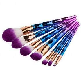 Kuas Make Up Rainbow 7 PCS - 2