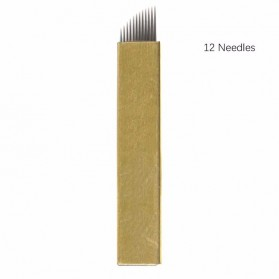 Jarum Tato Alis Permanen 12 Needles 1 PCS - 2