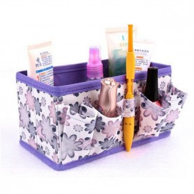 Box Organizer Make Up - Purple