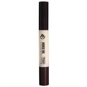 Horse Oil Pensil Alis Waterproof - Dark Brown
