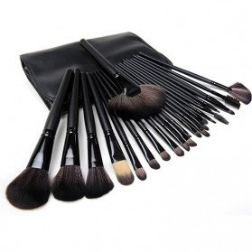 Biutte.co Kuas Make Up 24 Set - E-778232 - Black