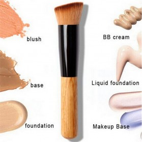 Brush Make Up Powder Concealer Foundation - Black - 1