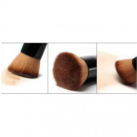 Brush Make Up Powder Concealer Foundation - Black - 4
