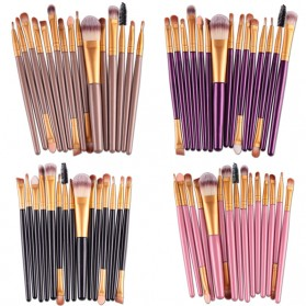 Kit Brush Make Up 15 Set - B7146 - Pink - 2