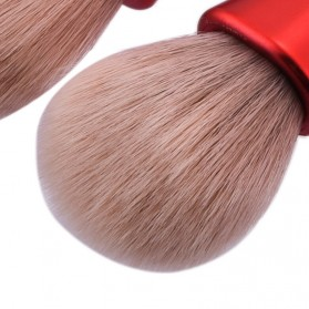 Make Up Brush 5 in 1 - Red - 4