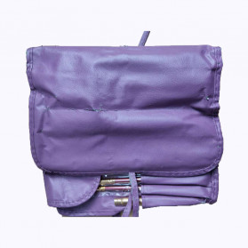 Brush Make Up 15 in 1 with Pouch - Purple - 3