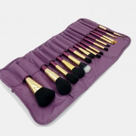 Brush Make Up 15 in 1 with Pouch - Purple - 7