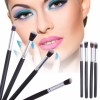 Brush Makeup - Blending Eyeshadow Make Up Brush 4 PCS - MAG5445 - Black