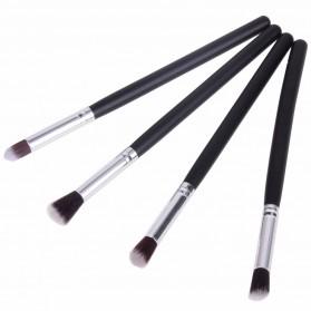 Blending Eyeshadow Make Up Brush 4 PCS - MAG5445 - Black - 2