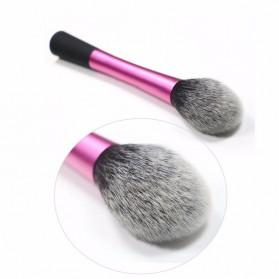 Blush Powder Blending Make Up Brush - Rose - 2