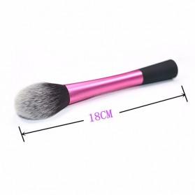 Blush Powder Blending Make Up Brush - Rose - 3