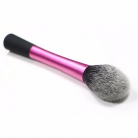 Blush Powder Blending Make Up Brush - Rose - 4