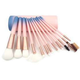 Gradient Brush Make Up 12 in 1 - Pink