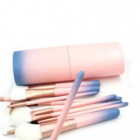 Gradient Brush Make Up 12 in 1 - Pink - 2