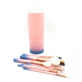 Gradient Brush Make Up 12 in 1 - Pink - 3
