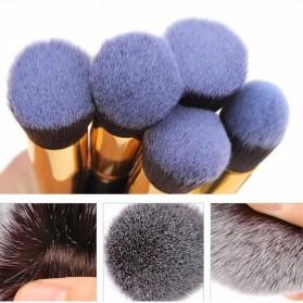 Make Up Brush 8 PCS - MAG5444 - Black Gold - 3